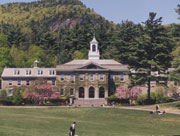 Berkshire School in Spring.